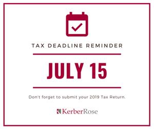 Tax Deadline Reminder